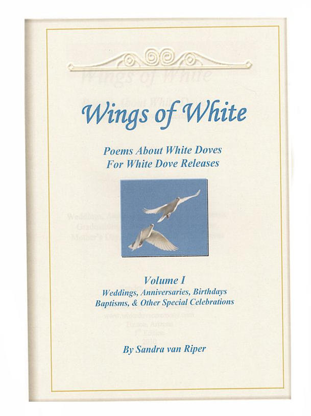 Poems and Readings - Wings of White-Volume 1 Poems for Weddings and other Celebrations
